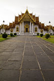 Templo de Benchamabophit de Bangkok Tailandia Imagenes de archivo