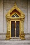 Templo de Benchamabophit de Banguecoque Tailândia Fotografia de Stock Royalty Free