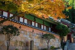 Templo de Beomeosa de Corea Fotografía de archivo libre de regalías