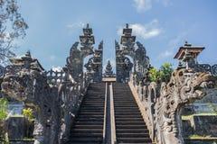 Templo de Besakih Fotos de archivo