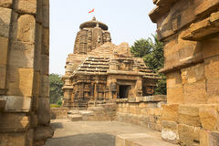 Templo de Bhubaneswar Imagen de archivo libre de regalías