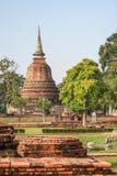 Templo de Bhuddha em Ayuttaya Tailândia Fotos de Stock Royalty Free