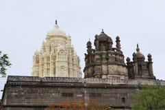 Templo de Bhuleshwar, templo de Shiva con la arquitectura islámica con las bóvedas, Yavat foto de archivo libre de regalías