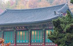 Templo de Bongeunsa Fotografia de Stock