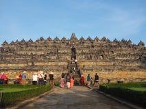 Templo de Borobudor Imagem de Stock