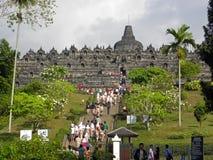 Templo de Borobudur Fotos de archivo