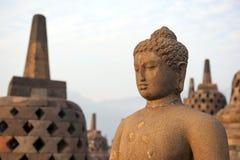 Templo de Borobudur Imágenes de archivo libres de regalías