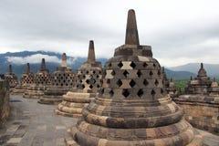 Templo de Borobudur Foto de Stock
