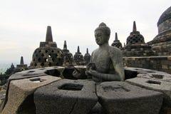 Templo de Borobudur Imagem de Stock