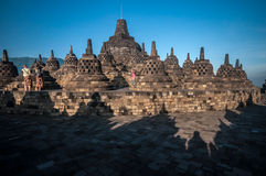 Templo de Borobudur Foto de archivo