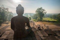 Templo de Borobudur Fotografía de archivo libre de regalías