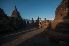 Templo de Borobudur Imagens de Stock