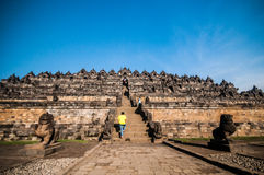 Templo de Borobudur Fotografia de Stock Royalty Free