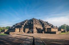 Templo de Borobudur Fotos de Stock Royalty Free