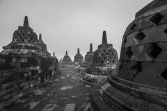 Templo de Borobudur em Indonésia Imagem de Stock Royalty Free