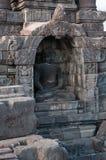 Templo de Borobudur, Java central, Indonésia Imagem de Stock