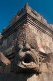 Templo de Borobudur, Java central, Indonésia Imagens de Stock