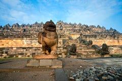 Templo de Borobudur, Yogyakarta, Java, Indonesia. Fotografía de archivo libre de regalías