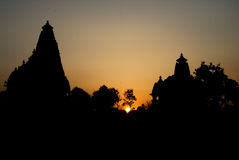 Templo de Bramha - Khajuraho Imagens de Stock