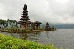 Templo de Bratan en Bali Foto de archivo libre de regalías