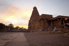 Templo de Brihadeeswarar em Thanjavur Imagem de Stock Royalty Free