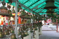 Templo de bronze Bell Fotos de Stock Royalty Free