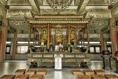 Templo de Buda del chino fotografía de archivo libre de regalías