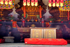 Templo de Buda en Shangai China Fotos de archivo
