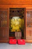 Templo de Buda en Shangai China Imagen de archivo