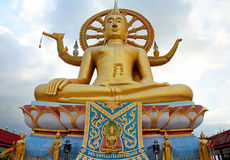 Templo de Buddha en Ko Samui fotografía de archivo libre de regalías