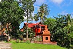 Templo de Buddist en Camboya Fotos de archivo libres de regalías