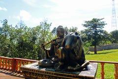 Templo de Buddist en Camboya Imágenes de archivo libres de regalías