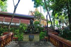Templo de Buddist en Camboya Imagen de archivo libre de regalías