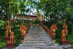 Templo de Buddist en Camboya Imagen de archivo