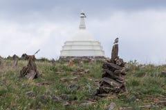 Templo de Buddist, o Lago Baikal Fotos de Stock Royalty Free