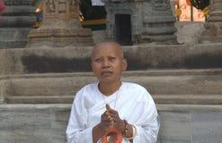 Templo de Budha, Bodhgaya Fotos de Stock Royalty Free