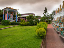 Templo de Budhist imagen de archivo