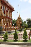 Templo de Budhist en Tailandia Fotos de archivo