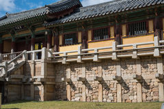 Templo de Bulgoksa - Corea Imagen de archivo libre de regalías