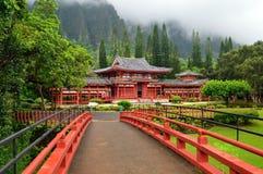 Templo de Byodo fotos de stock