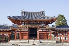 Templo de Byodoin em Kyoto, Japão Fotografia de Stock Royalty Free
