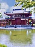 Templo de Byodoin em Uji, Kyoto fotografia de stock
