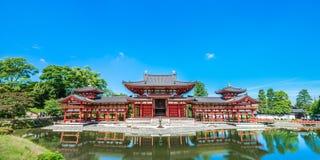 Templo de Byodoin en la ciudad Japón de Kyoto foto de archivo