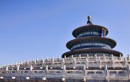 Templo de céu em Beijing Foto de Stock Royalty Free