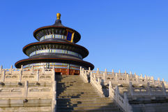 Templo de céu em Beijing China imagens de stock royalty free