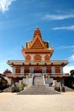 Templo de Cambodia fotografia de stock royalty free