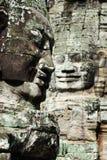 Templo de Cambodia - de Bayon foto de stock