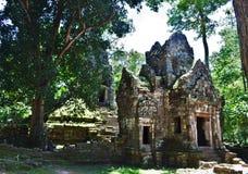 Templo de Camboja Imagem de Stock