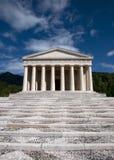 Templo de Canova - Possagno, Italy fotografia de stock