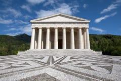 Templo de Canova - Possagno, Italy imagens de stock